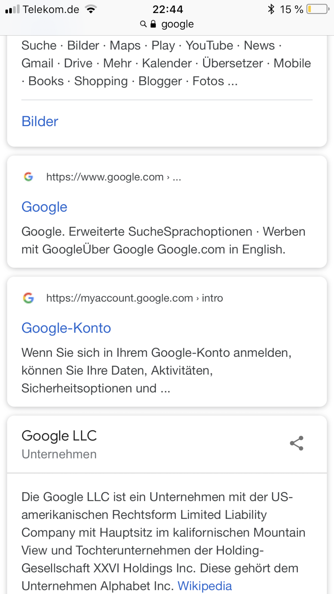 iphone mit google konto